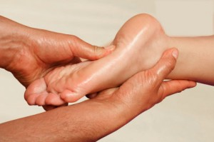 Foot Reflexology for Relaxation